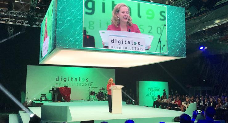 Ministra Nadia Calviño. Revolución digital