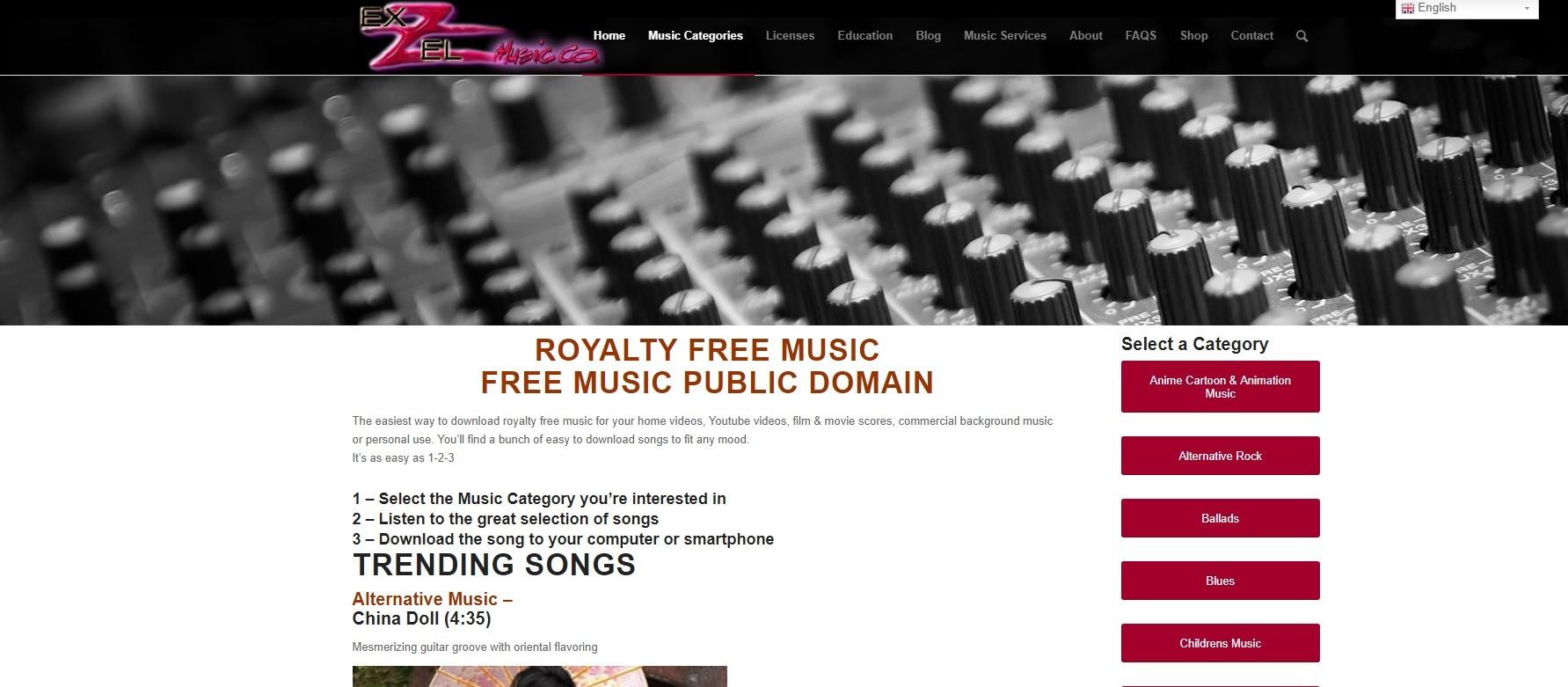 Una de las mejores webs para descargar música gratis para YouTube