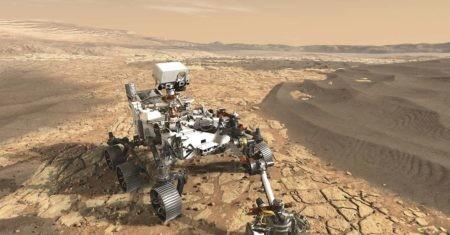 tiempo en Marte