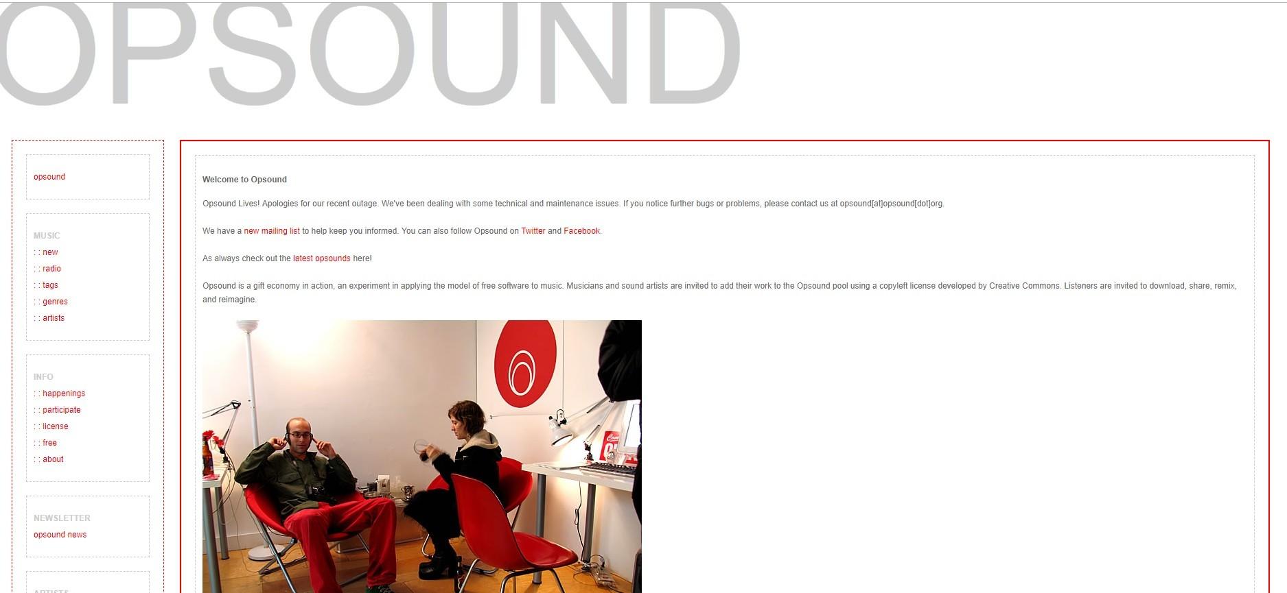 En Opsound puedes descargar música gratis para YouTube