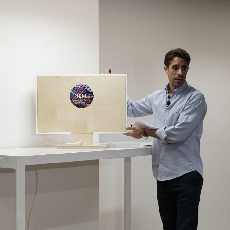 Julio Alonso, uno de los impulsores del primer ordenador que reproduce los síntomas de la esclerosis múltiple