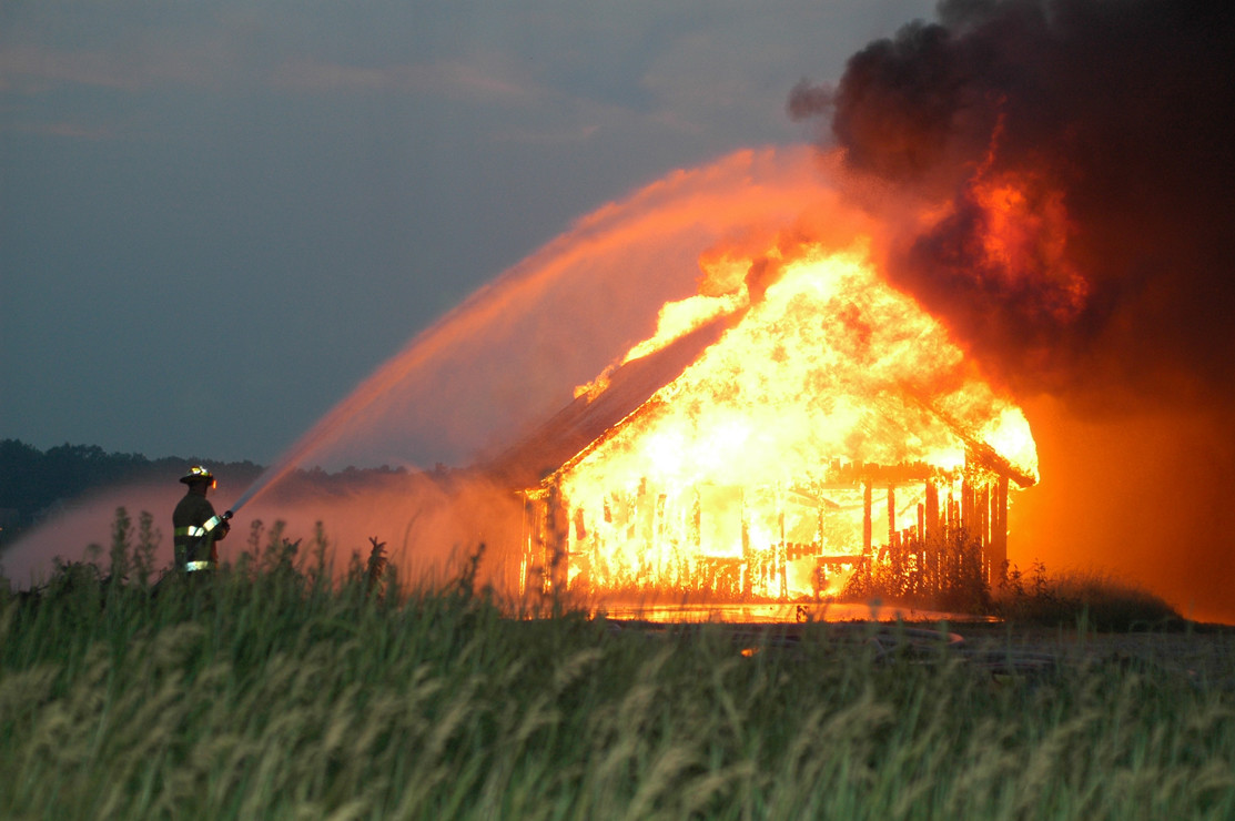 extinción incendio