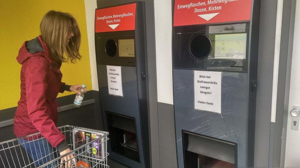 Las máquinas de reverse vending facilitan poder sacar datos de la basura.