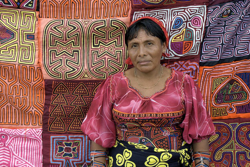 Las Molas son parte fundamental de la cultura Guna.