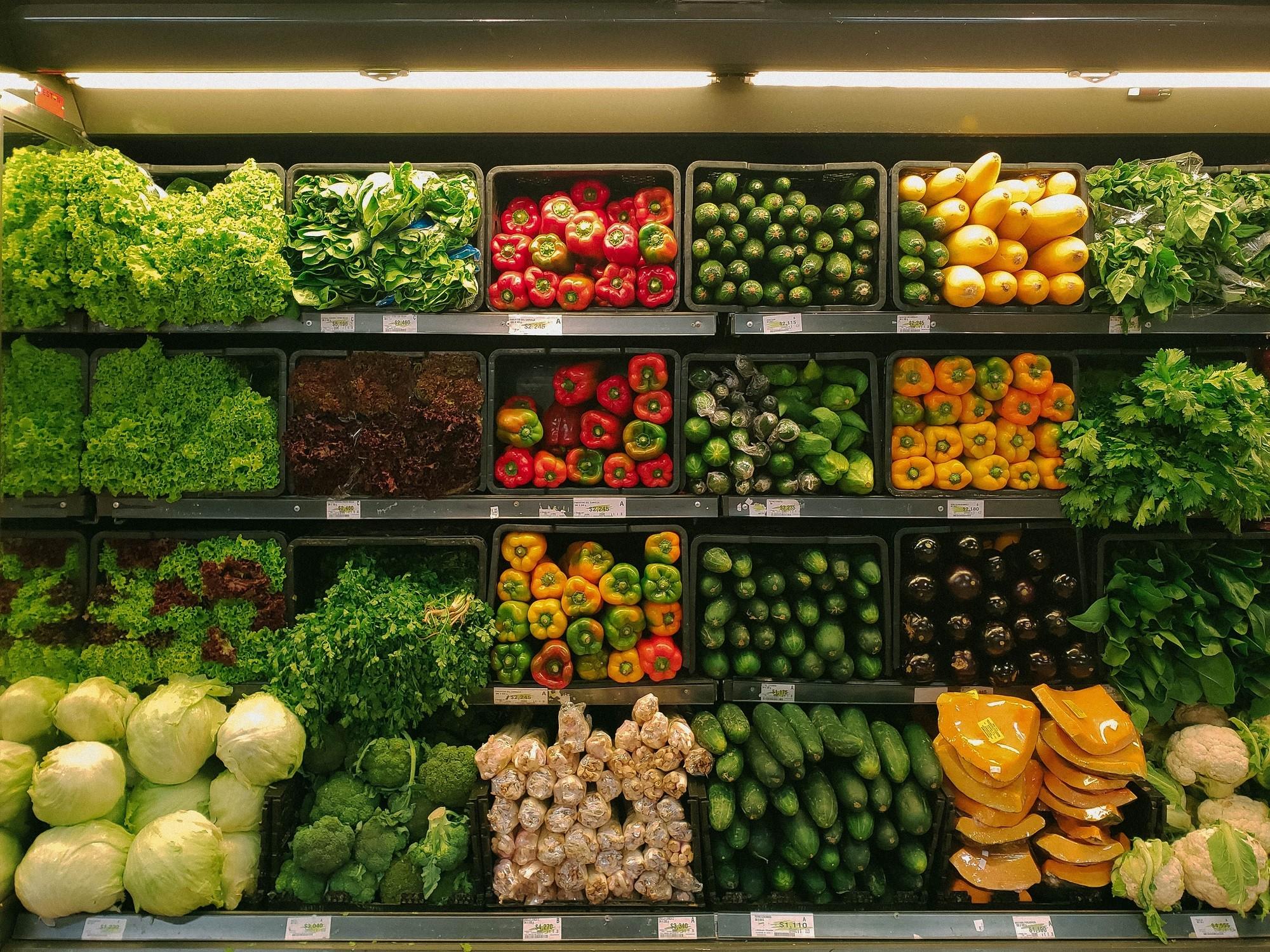 las verduras también pasan los controles sanitarios de los alimentos
