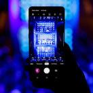Grabar conciertos con el móvil en vertical. Samsung
