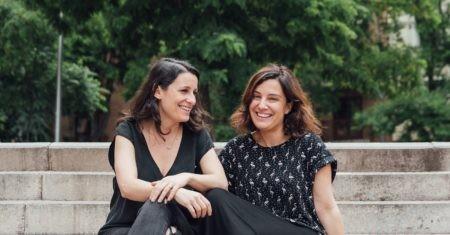 Inés Vázquez y Rosario Ortiz, fundadoras de Adalab