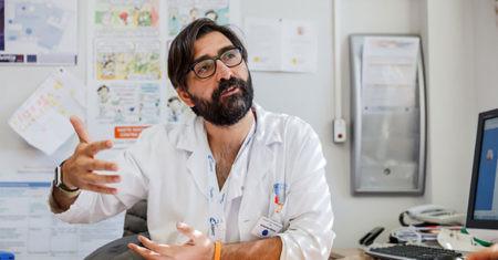 Cáncer infantil. Antonio Pérez Martínez, jefe de Servicio Hemato-oncología Pediátrica del Hospital Universitario la Paz.