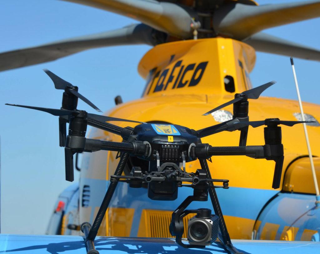 los drones de la DGT ya pueden multar
