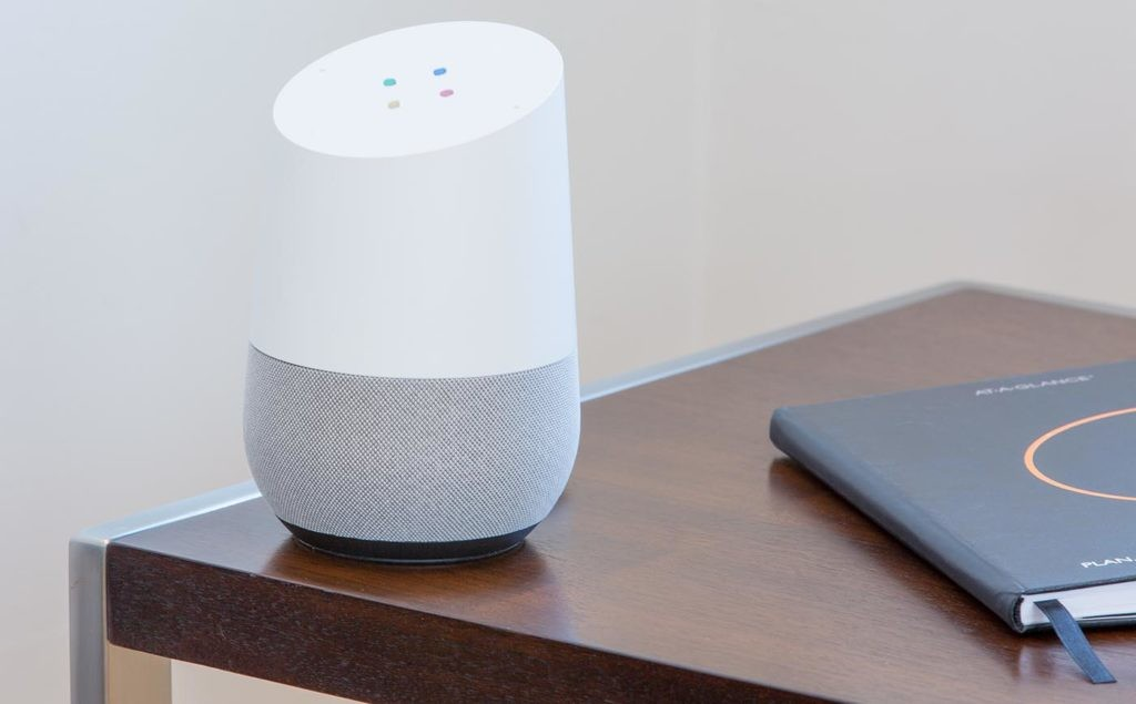 dispositivo Google Home