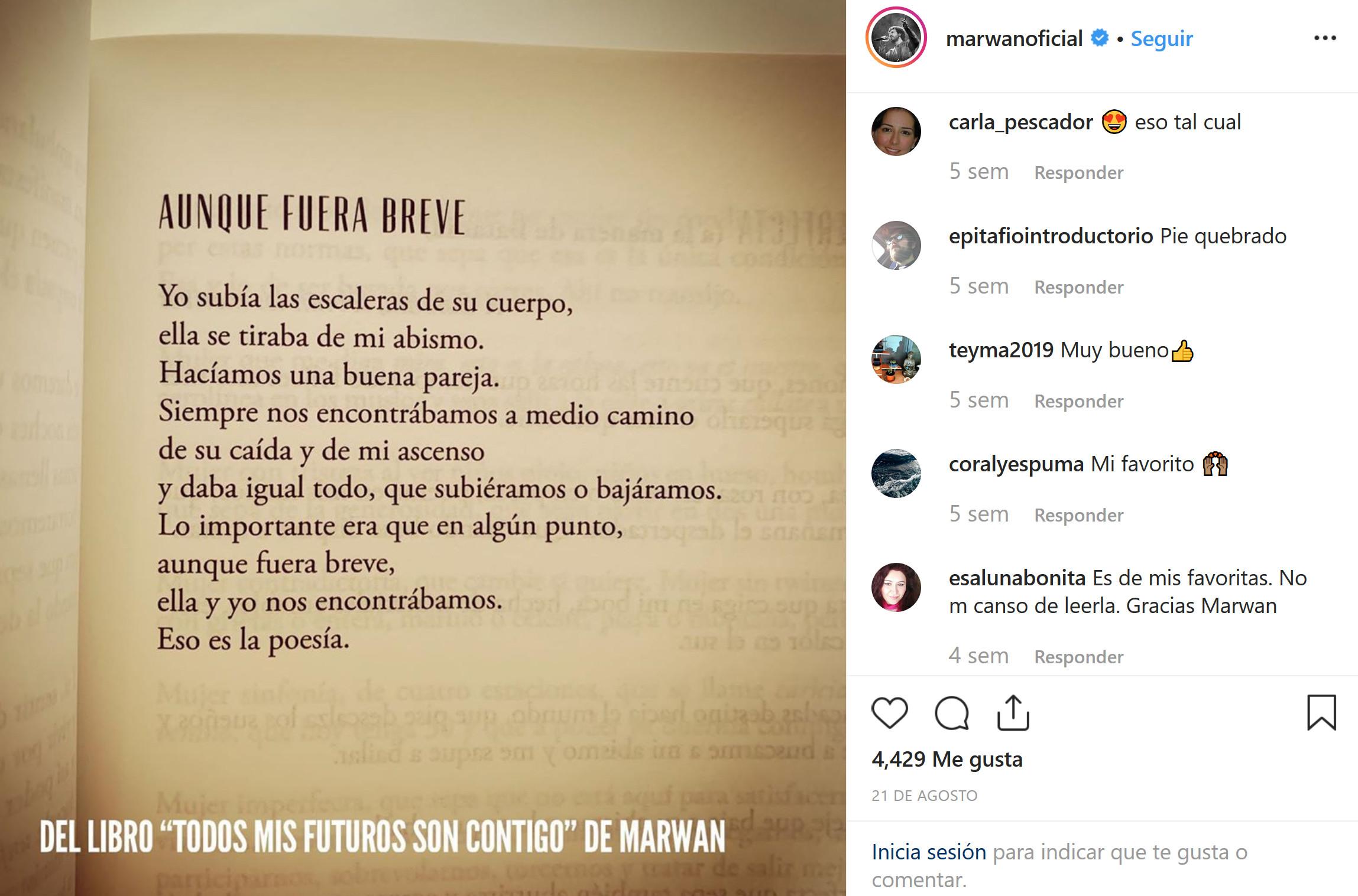 instagram y la lectura