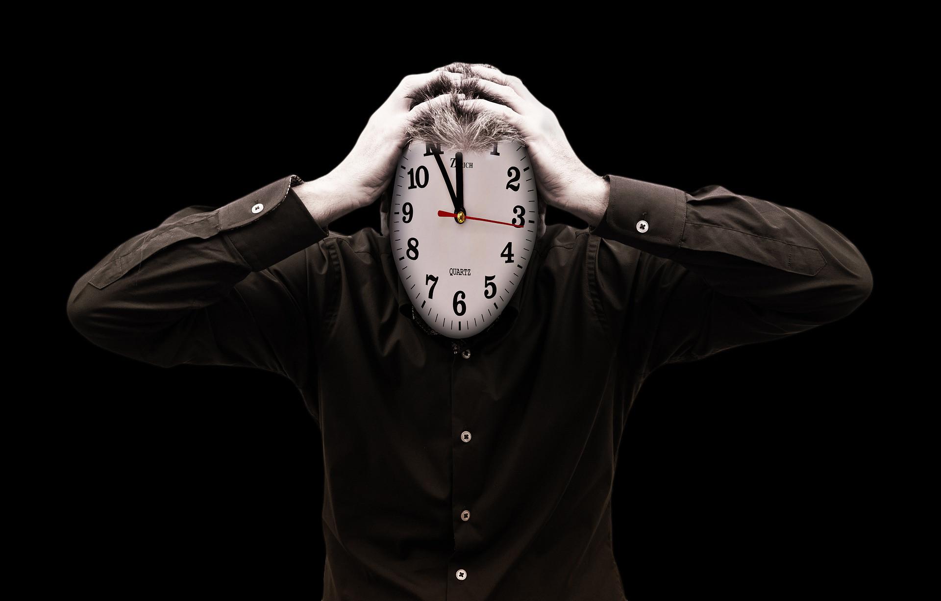 Lentitud frente a ansiedad por la prisa del reloj