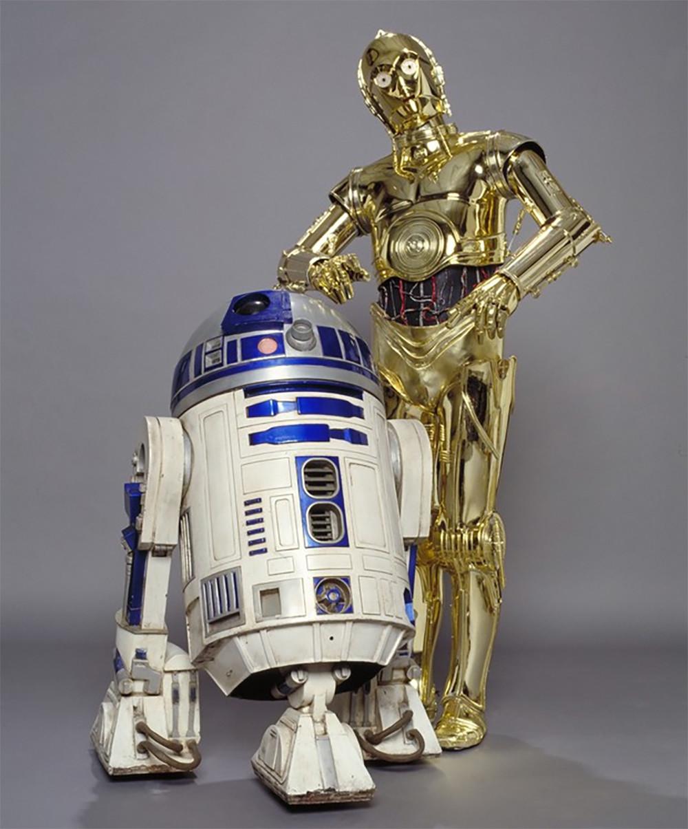 robots de ficción. R2D2-C3PO