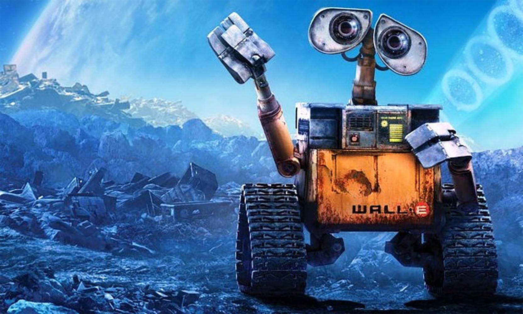 robots de ficción. WallE