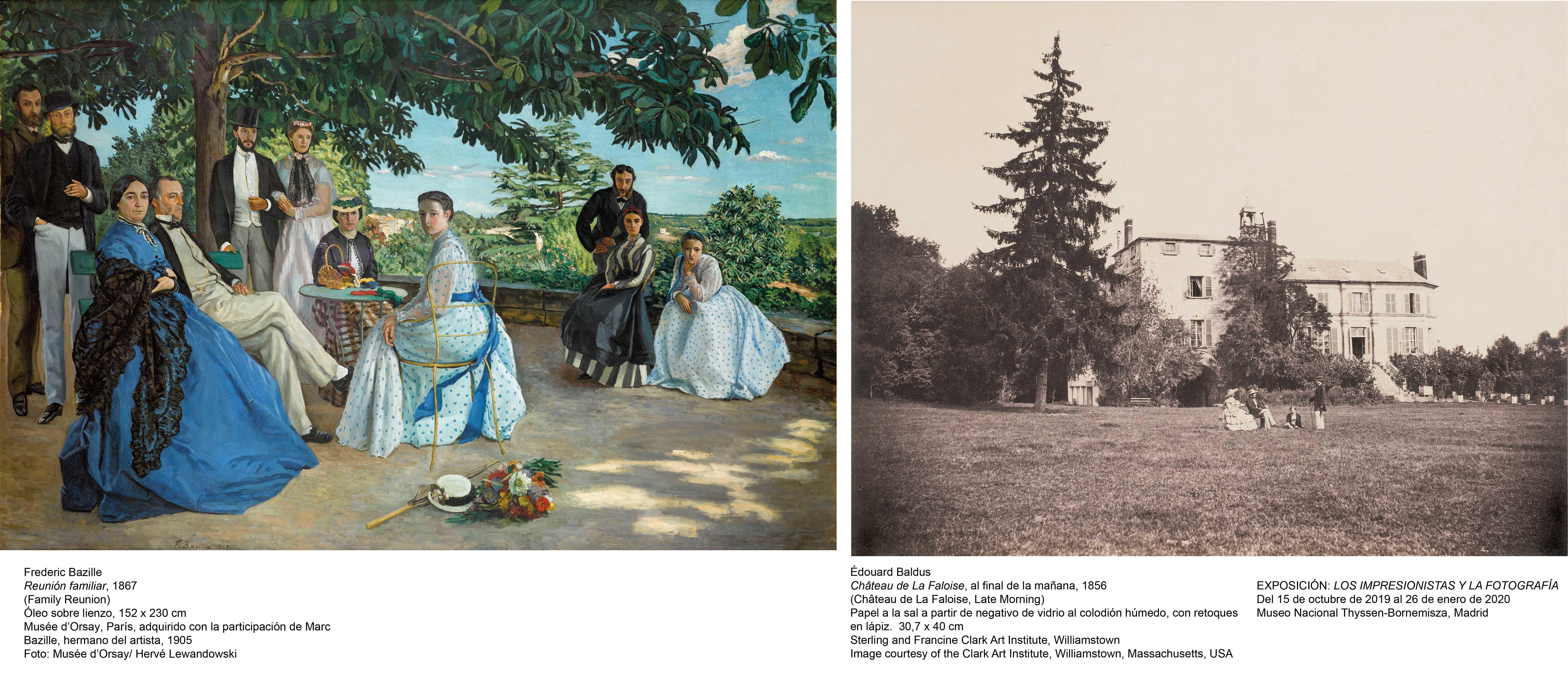 LA fotografía y los impresionistas