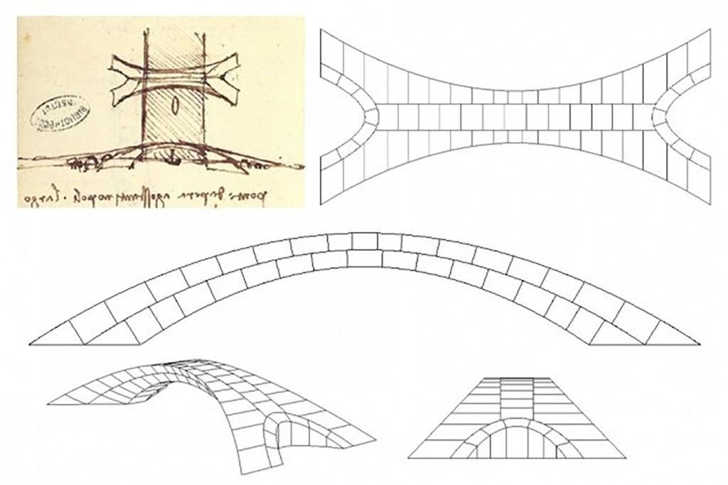 Leonardo da Vinci. Puente