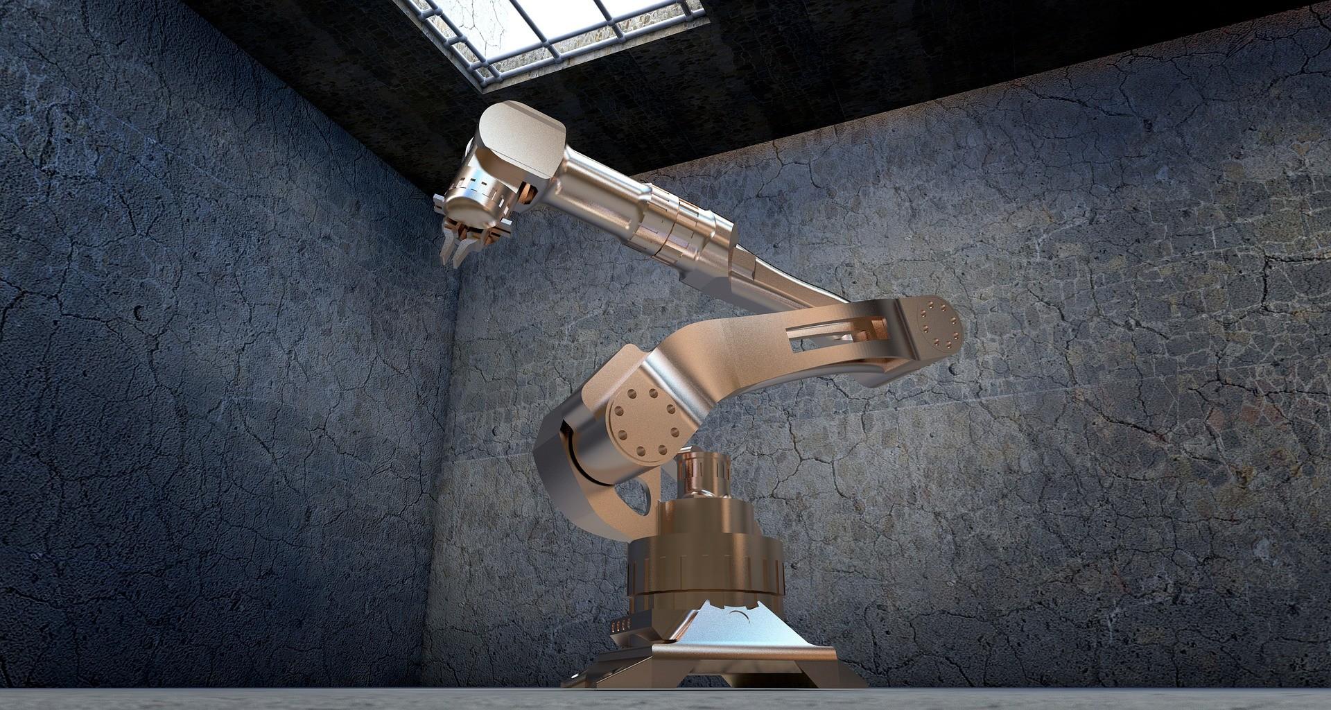 robot en puestos de trabajo