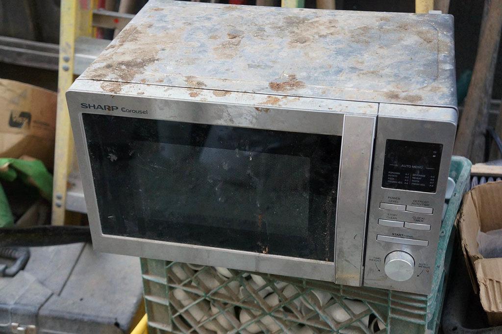 daños del microondas