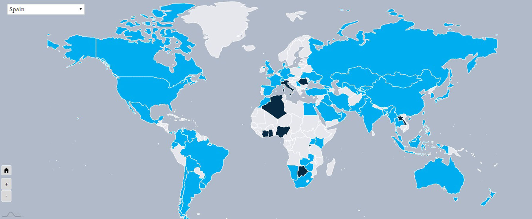 paises con ciudades tecnologia biometrica