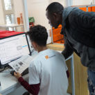Fundación Orange. GarageLab en Cornella de Llobregat
