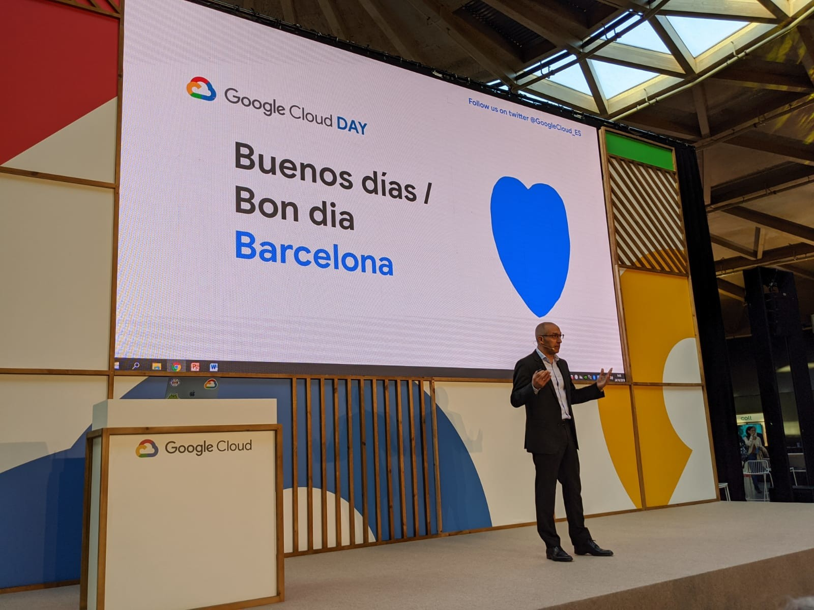 Isaac Hernández Country Manager Google Cloud Iberia