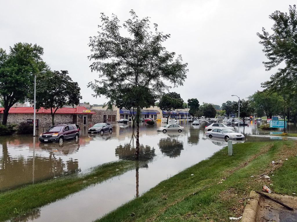 inundaciones por la subida del mar