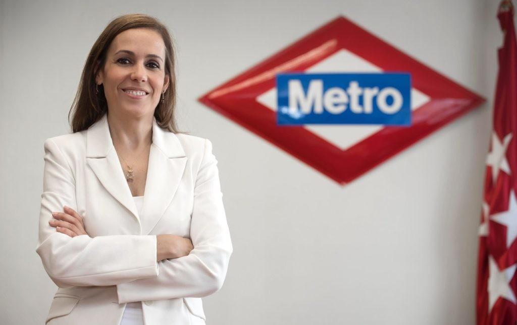 Silvia Roldán, consejera delegada de Metro de Madrid