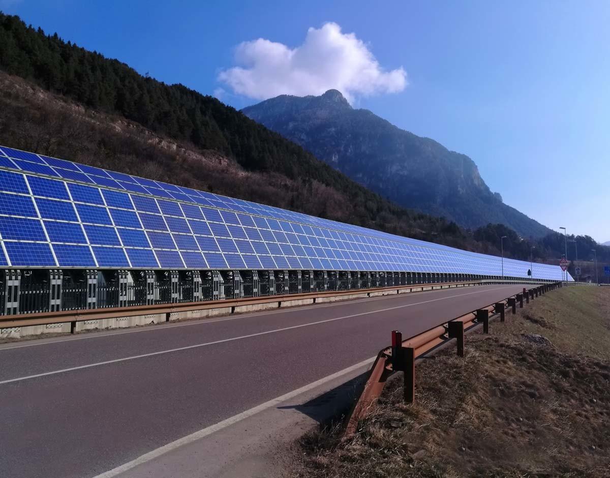 fotovoltaica energia solar carretera