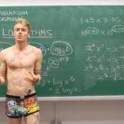 enseñar matemáticas en calzoncillos
