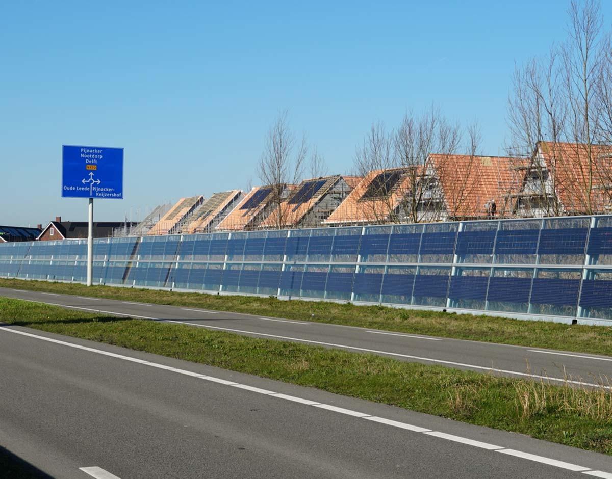 no carretera solar fotovoltaica en carretera