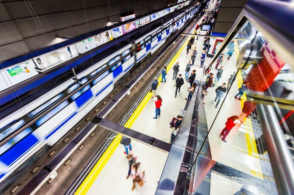 Metro de Madrid, viajeros