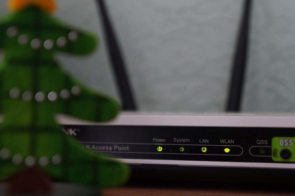 luces de router Wifi