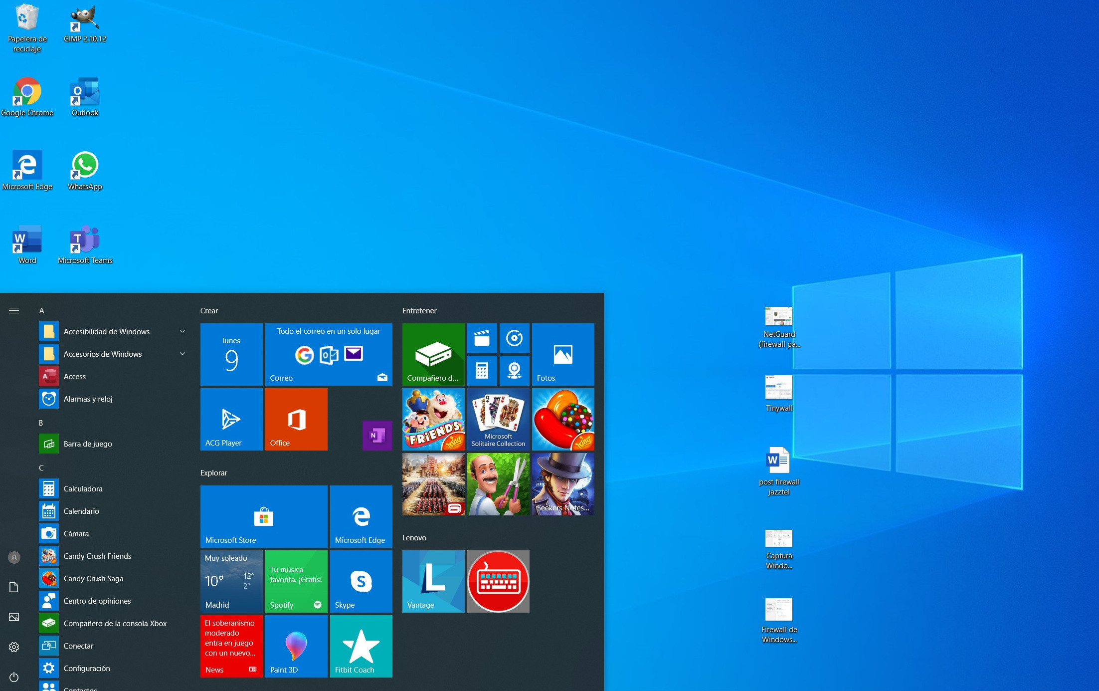 Optimizar Windows 10