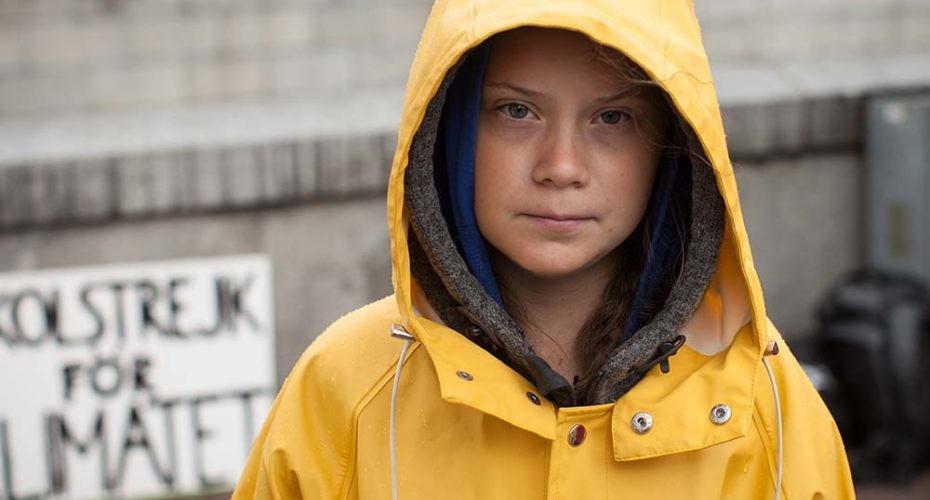 líderes climáticos que acompañan a Greta Thunberg