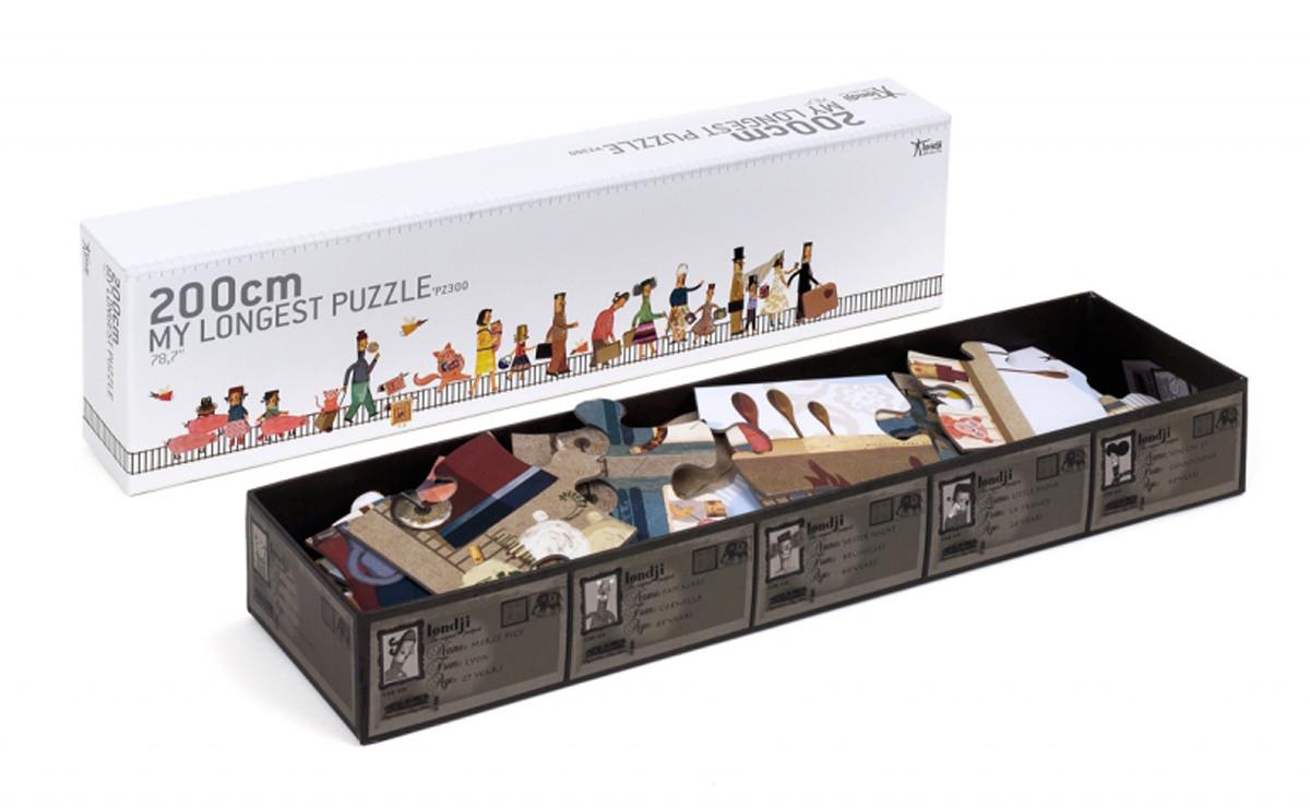 puzle reciclado