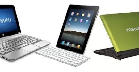 Cuatro claves para elegir entre un netbook y un tablet