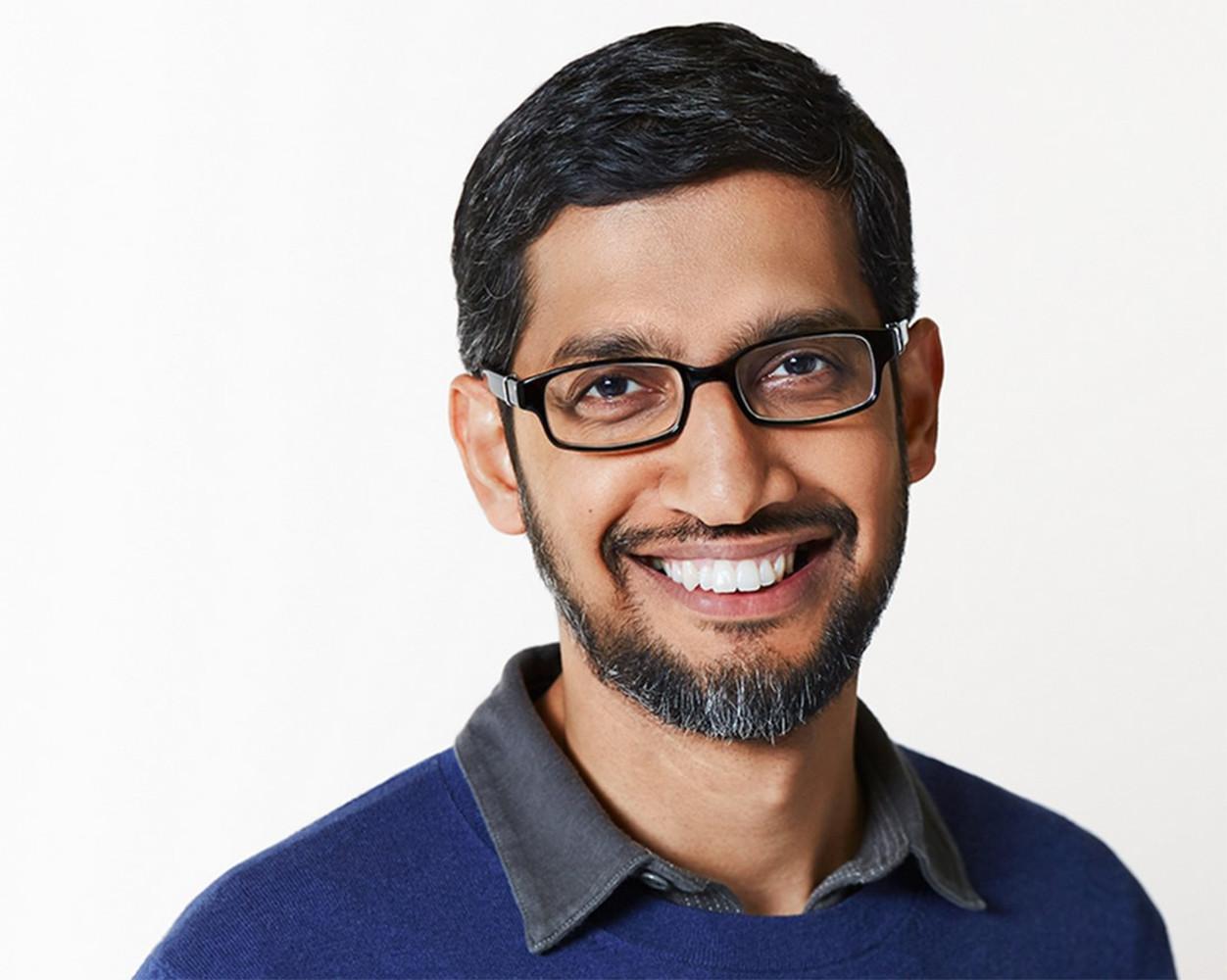 Sundar Pichai (CEO de Google)