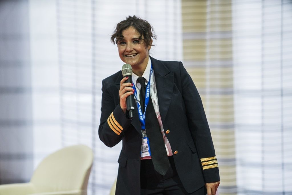 Vanessa de Velasco, pilota