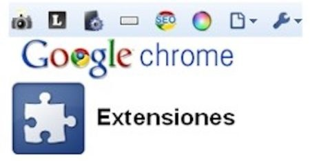 google chrome extensiones