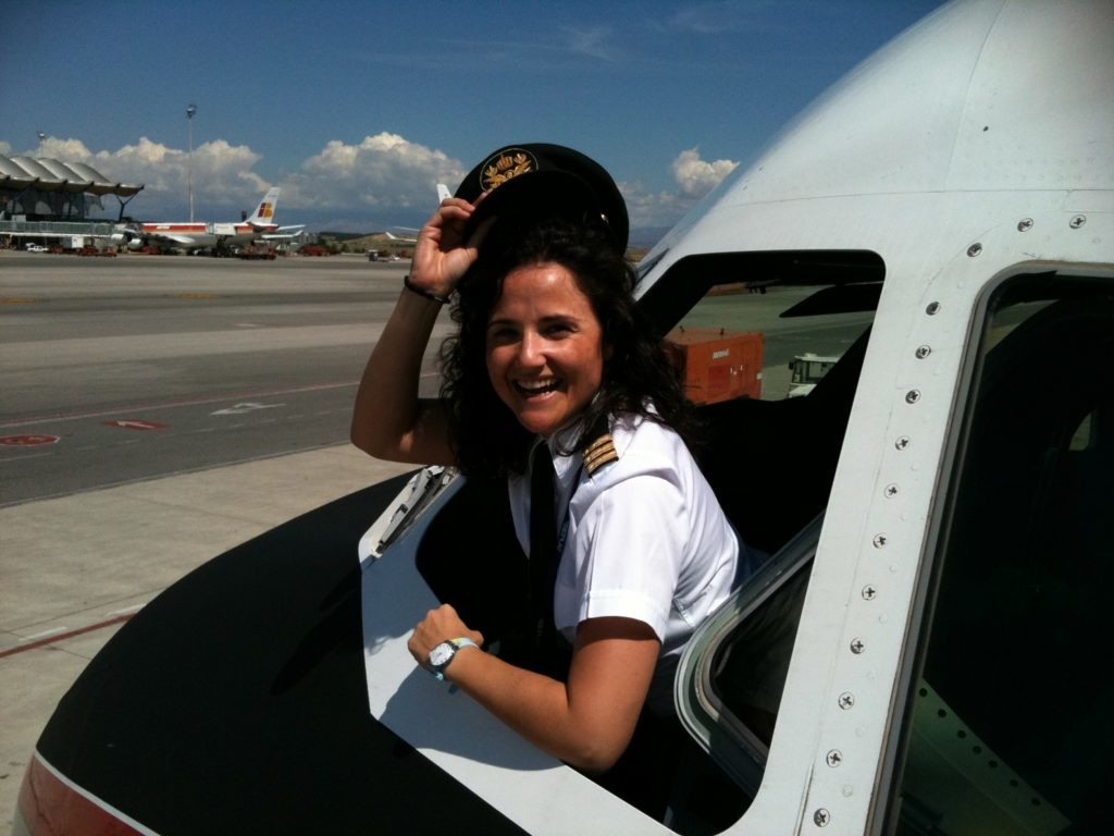 Vanessa de Velaco, piloto de Iberia