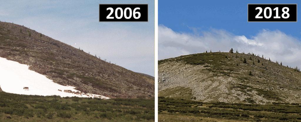 el deshielo, cambio climático y arqueología