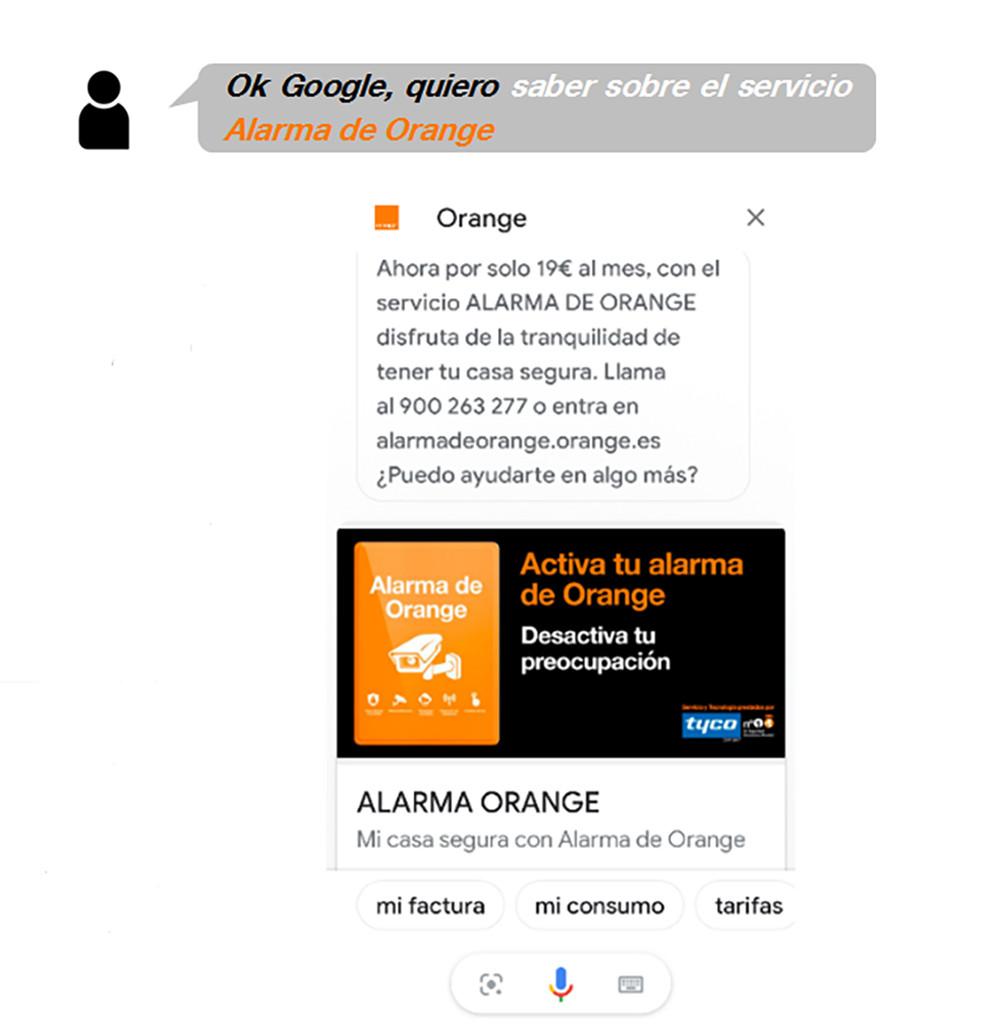 hablar con orange