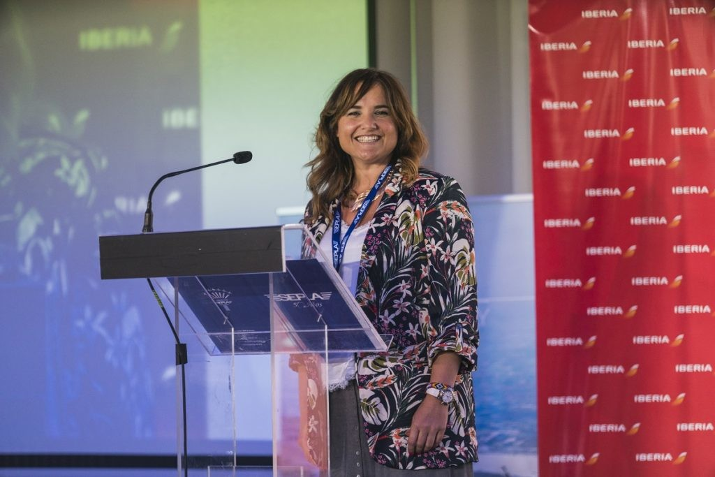 Vanessa de Velasco, directora de Aviadoras