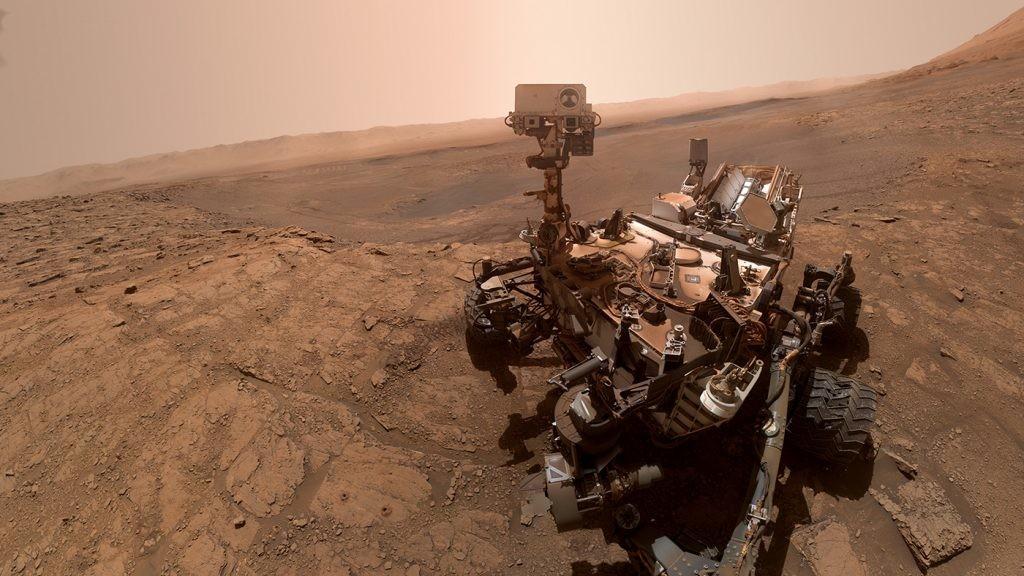 último selfi enviado por el rover Curiosity