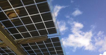 sostenibilidad. panel solar