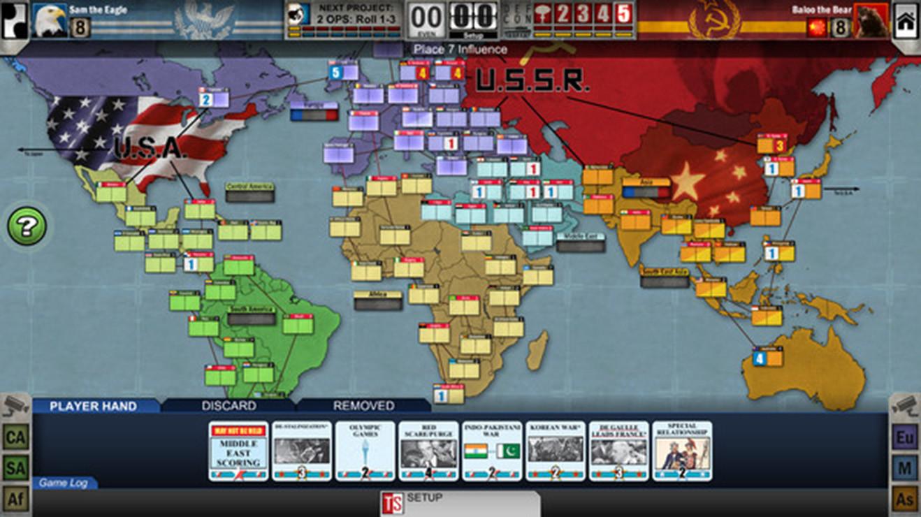 Twilight Struggle juegos de mesa online