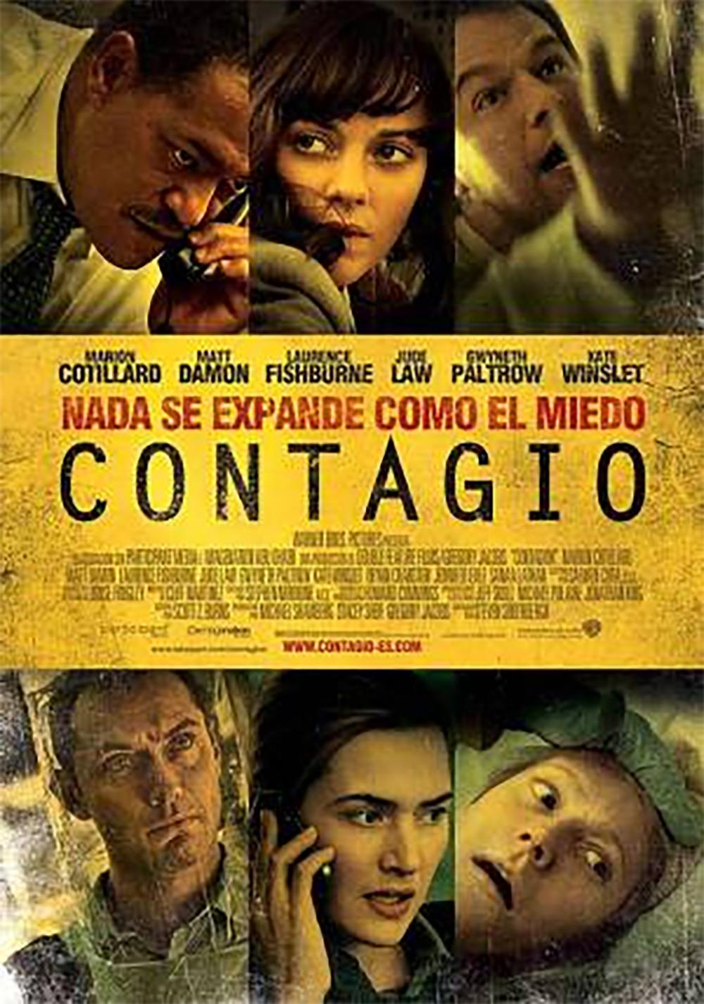 coronavirus covid-19. Película contagio