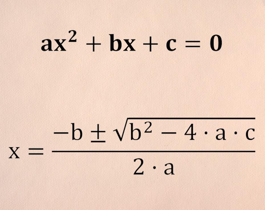 Cómo Resolver Ecuaciones De Segundo Grado Fórmula Maestra