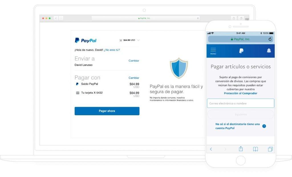 trasnferencias a cualquier lugar del mundo con PayPal