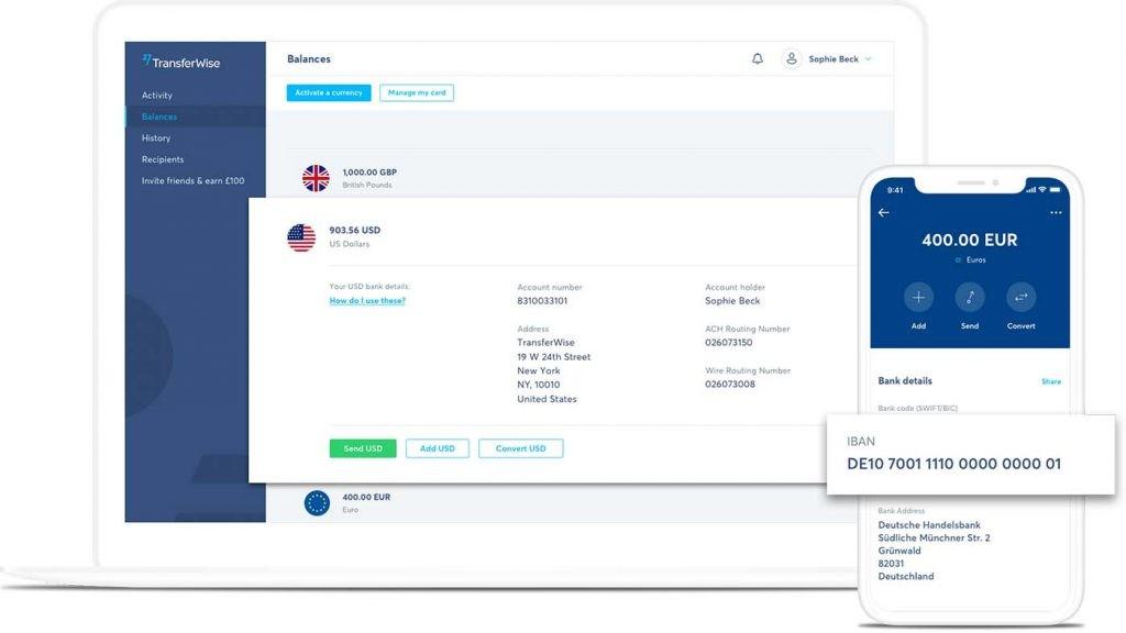 la alternativa de Transferwise para enviar dinero